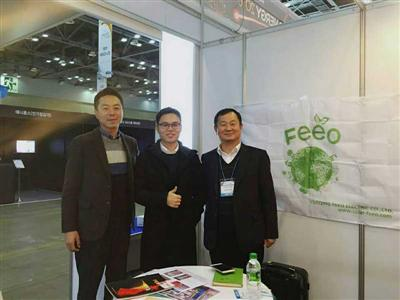 Nov 2016, Terence who is our sales manager visited Korea, met client