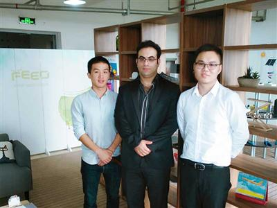 Oct 12, 2016, client from Iran visited FEEO company.