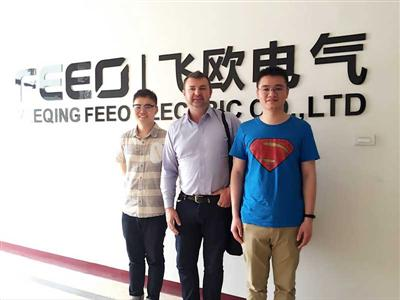 July 12, 2016, client from Australia visited FEEO company.