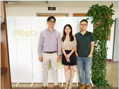Jun 28, 2017, client from Columbia visited FEEO company.