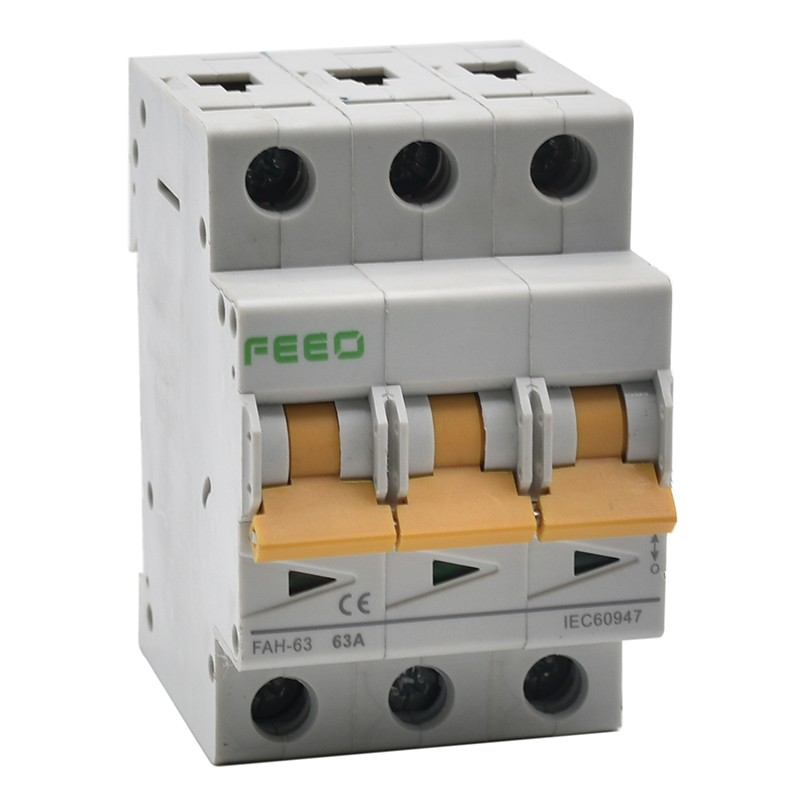 FAH-63 3P Mini Isolator Switch
