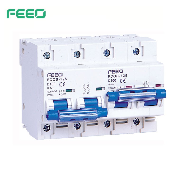 FCOS-125 Dual Power Manual Transfer Switch MTS