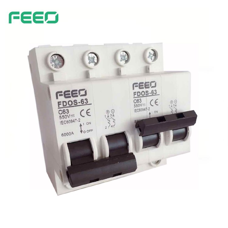 FDOS-63 DC Dual Power Manual Transfer Switch MTS